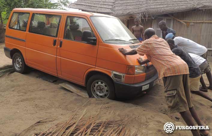 África en furgoneta