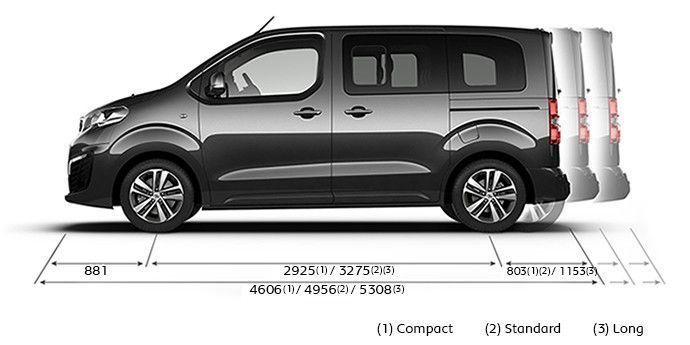 Peugeot Traveller: La primera versión camper de Peugeot.