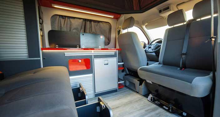 Camperización de Volkswagen T5: Bimbos Van