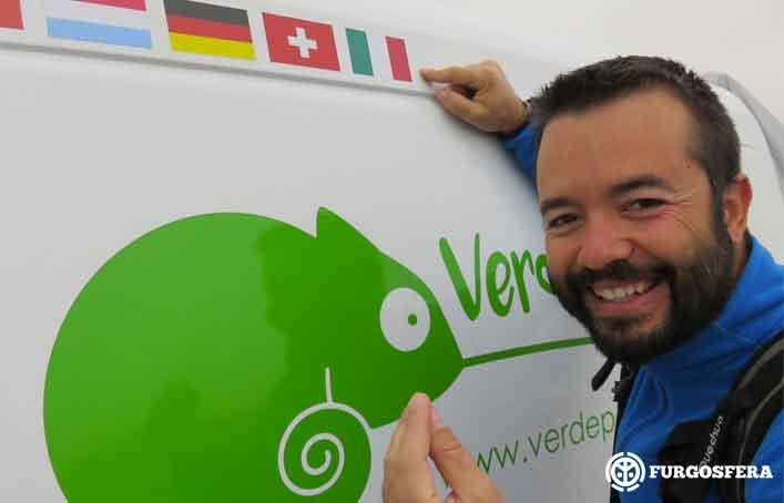 Viajar en furgoneta: Verde por Dentro y Pablo