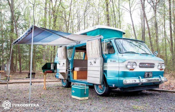 Diferencias entre acampar y aparcar la furgoneta
