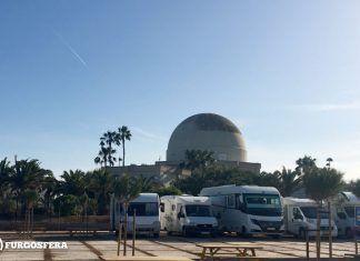 Área de autocaravanas de Castellón que los campings quieren denunciar