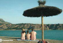 Negratín: nudismo de pantano... en tu furgo