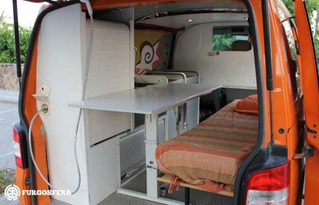 Volkswagen Transporter 5, 4 Motion y Camper