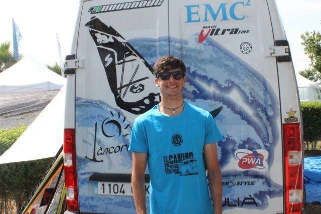 Marc Paré: Windsurf y furgonetas