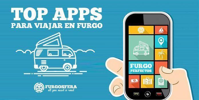 Las mejores apps para viajar en furgo