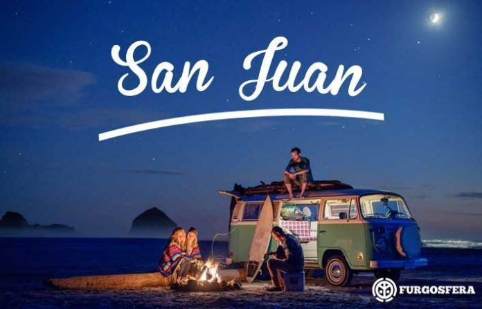 San Juan en furgo