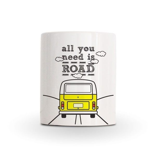 Taza furgo - All you need is road