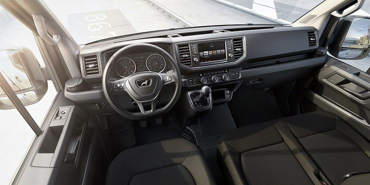 MAN TGE interior