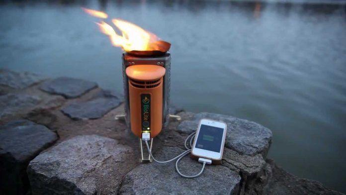 Biolite Fogón-Cargador de móvil