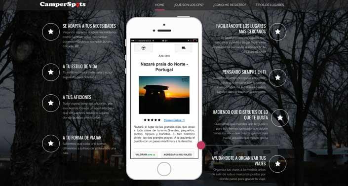app gratuita para viajar en furgo