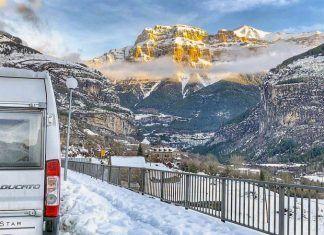 Estaciones de esquí en furgo