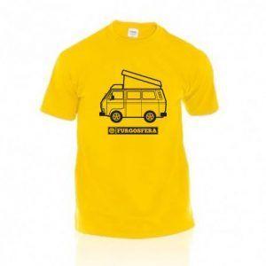 Camiseta Furgosfera amarillo