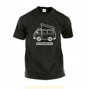 Camiseta Furgosfera negro