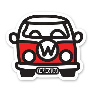Pegatina furgo Volkswagen