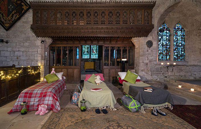 Church camping en la Iglesia de Holme