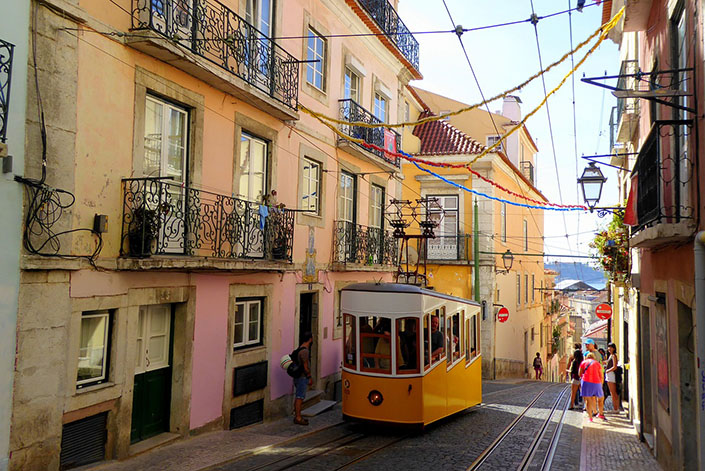 Lisboa en furgoneta