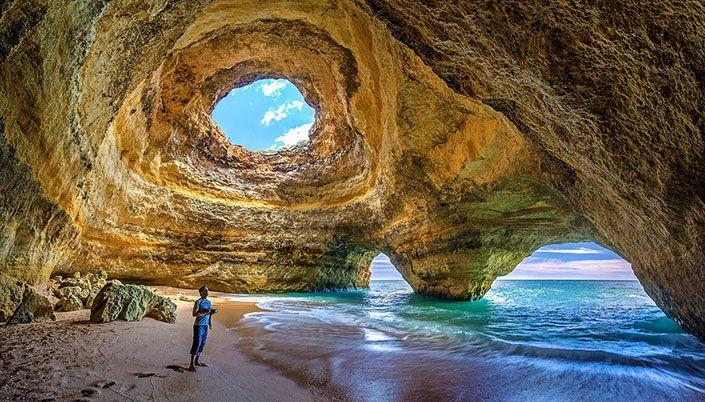 Impresionantes cuevas y playas de Benagil