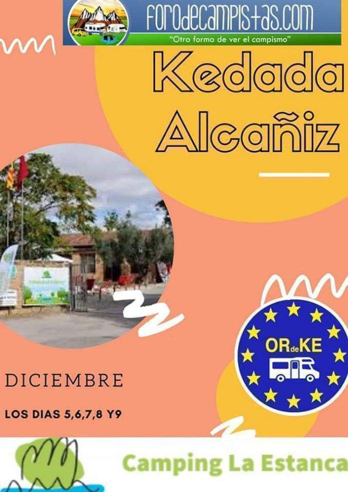 Kedada Alcañiz puente de la constitución