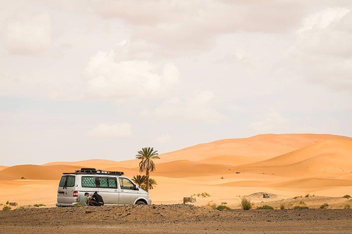Marruecos con Furgosfera y Camper Van Challenge