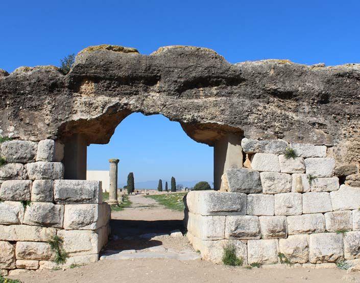 Restos arqueológicos de Empuries