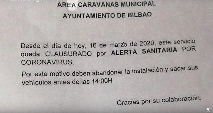 Las áreas y campings están obligadas a cerrar