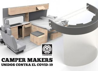 3d makers coronavirus campervan