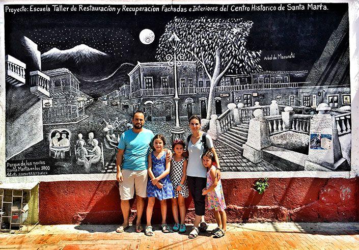 Viajar en familia y educar a sus hijas