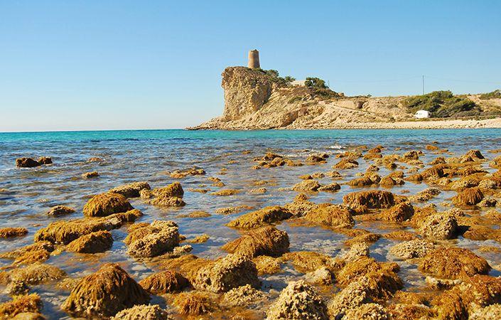 Cala del Xarco, uno de los lugares para visitar en españa