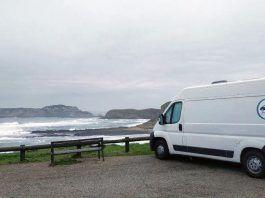 Asturias en furgo de alquiler