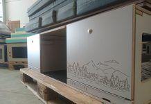 madera para camperizar la furgo