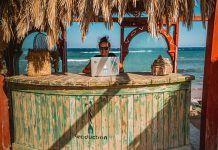 nómada digital en el paraíso