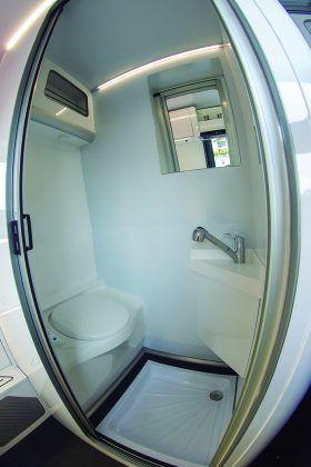 camper innovadora baño