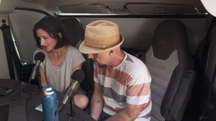hola, mundo podcast furgonetero