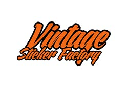 Vintage Sticker Factory