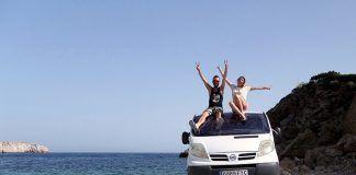 ruta por Ibiza en furgo