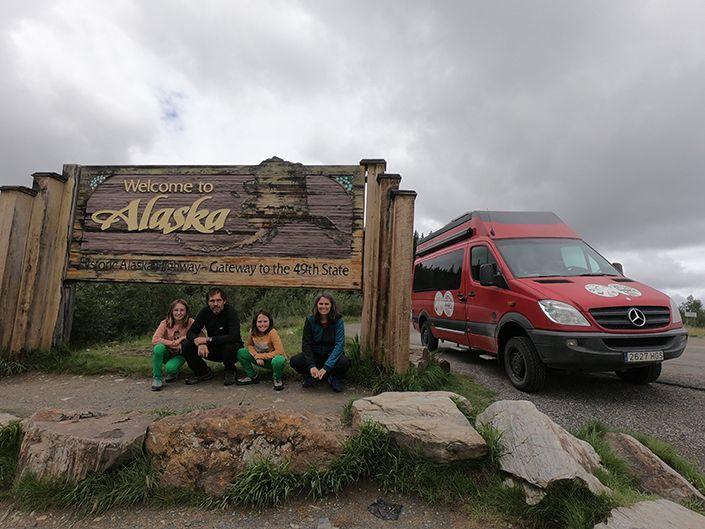 De Alaska a la Patagonia en furgoneta camper