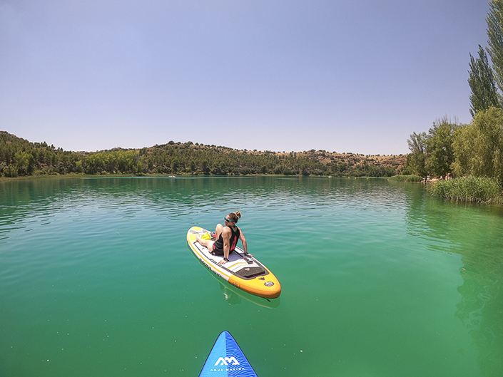 Lagunas de Ruidera, en La Mancha
