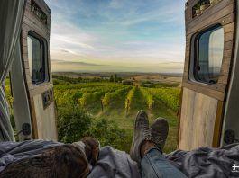 es sostenible viajar en furgoneta