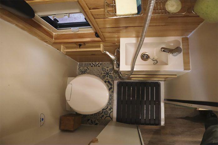 baño en la furgo si o no