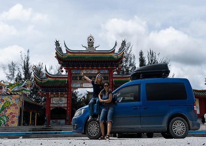 Recorriendo Borneo en minicamper