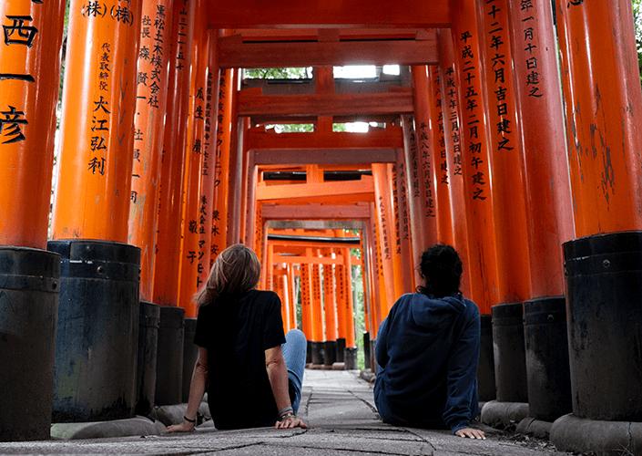 Recorrer Japón en minicamper fue una maravilla
