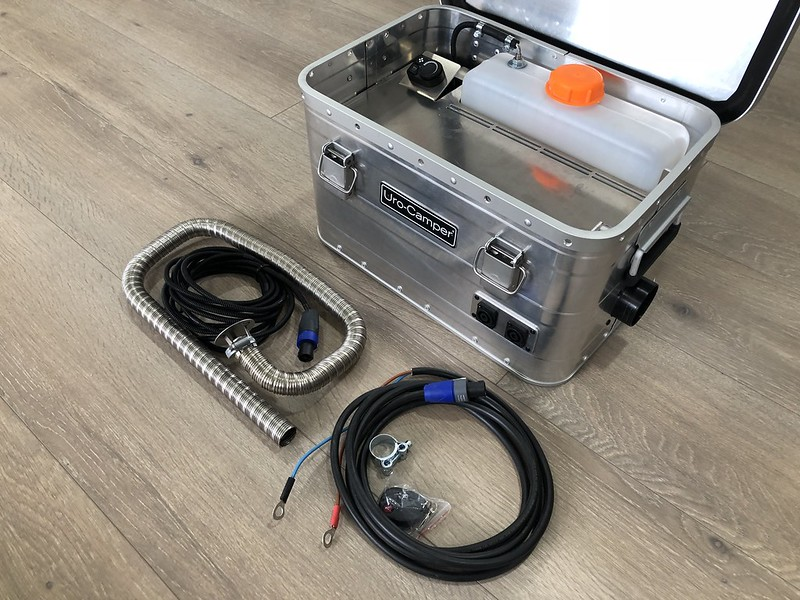 calefacción portátil