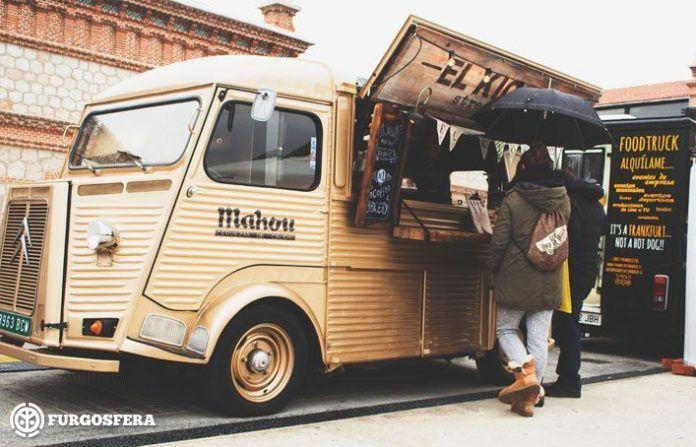 Food truck en la calle
